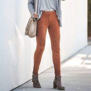 VICI Collection Piper leggings in Rust